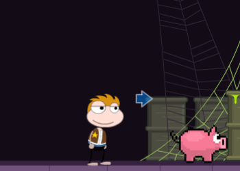 Poptropica Prized Porker in the Pit