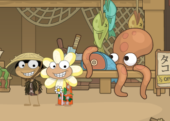 Poptropica Red Dragon Island Fish Shop