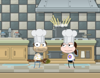 Chef Hat in Spy Island
