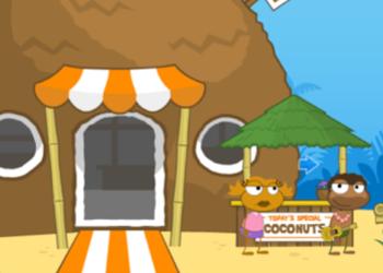 Poptropica Coconut Stand