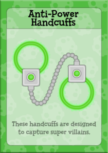 Anti-Power HandCuffs
