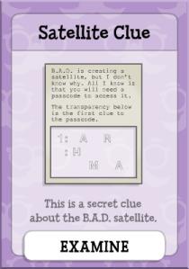 Satellit Clue