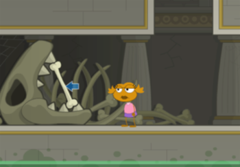 Poptropica Old Bone in Shark Tooth Temple