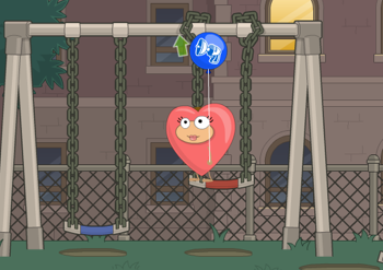 Arrival in Poptropica Shrink Ray Island