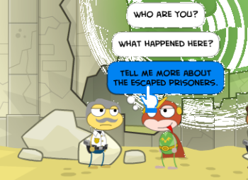 Super Villain Files in Super Power Island