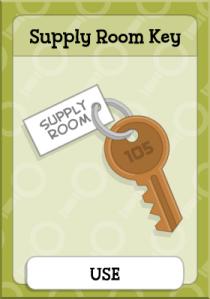 Supply Room Key