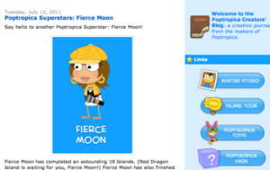 Fierce Moon - Poptropica Superstar