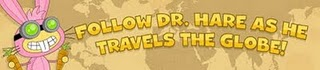 Dr. Hare Travels the Globe