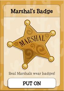 Marshal's Badge