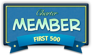 Poptropica Secrets Forum Charter Member Badge