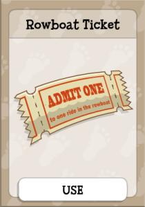 Rowboat Ticket