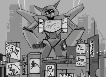Poptropica Robots - Big Yoshi Bot