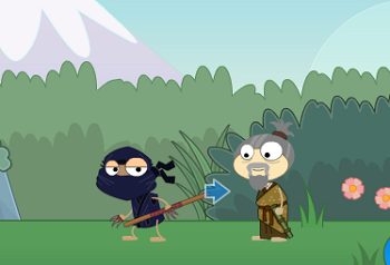 Grappling Hook in Red Dragon Island