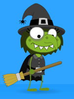 Poptropica Green Witch
