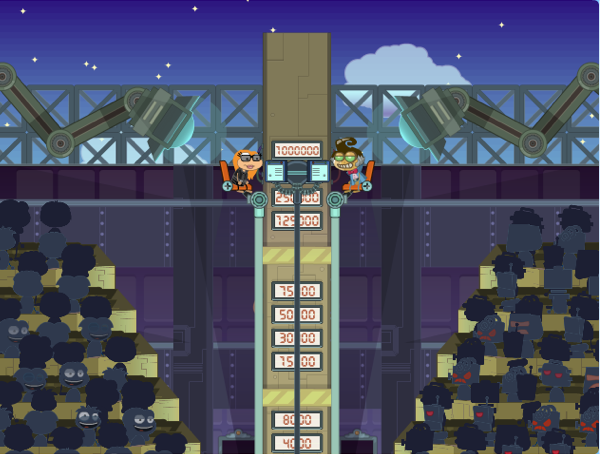 Poptropica Money Ladder - Top