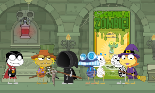 Zombify Power in Haunted House