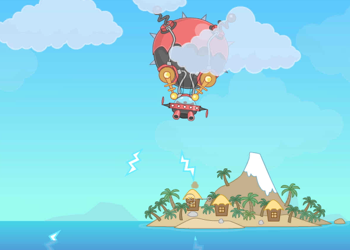 Poptropica Blimp Adventure - Cumulo Attacks