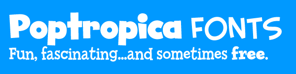 Fonts in Poptropica