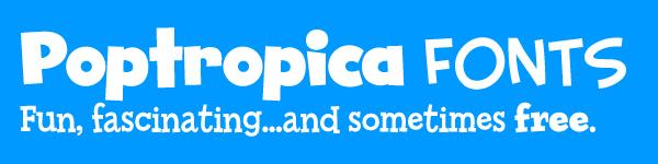 Poptropica Fonts
