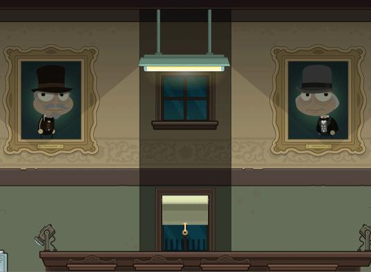 Poptropica Ghost Story Island Scene 1