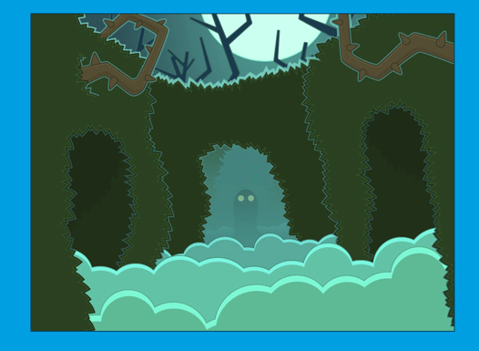 Poptropica Ghost Story Island Scene 1