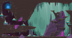 Poptropica Legendary Swords - Cave Entrance