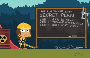 Poptropica Legendary Swords - The Secret Plan