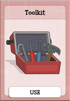 Toolkit in Game Show Island