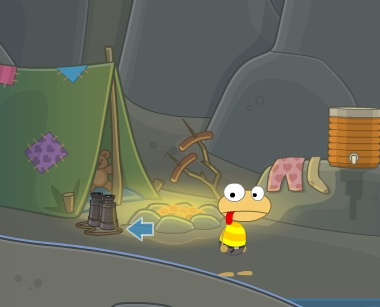 Binoculars in Ghost Story Island