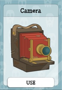 Camera in Ghost Story island
