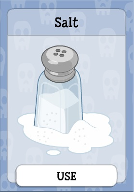 Salt in Ghost Story Island