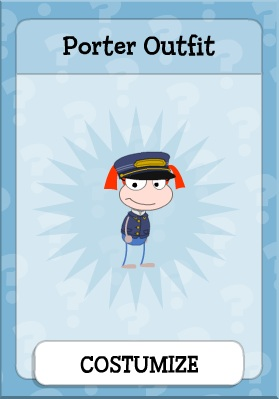 Porter Outfit in Mystery Train Island