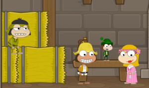 Poptropica Leprechaun Minimized