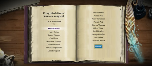 Pottermore - Are You Magical?