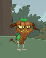 Poptropica Troll in Woods