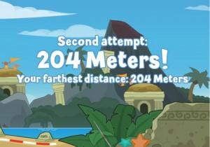 Poptropolis Games - 204 meter Javelin Shot