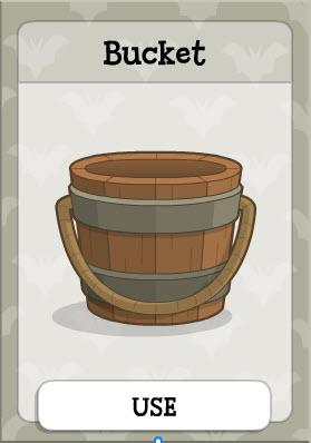 Bucket in Vampire's Island