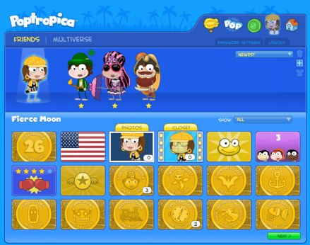Poptropica Friends