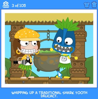 Poptropica Cheats For Shark Tooth Island
