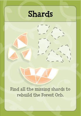 Shards in Twisted Thicket Island
