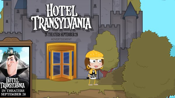 Hotel Transylvania in Poptropica