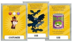 Monster Carnival Island Member Items