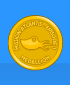 Poptropica Mission Atlantis Episode 1 Medallion