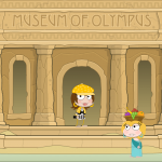 Outside the Museum in Mythology Island