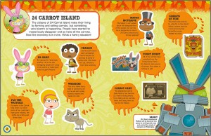 Poptropica Sticker Book - 24 Carrot
