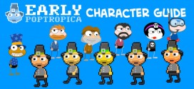 Early Poptropica Character Guide