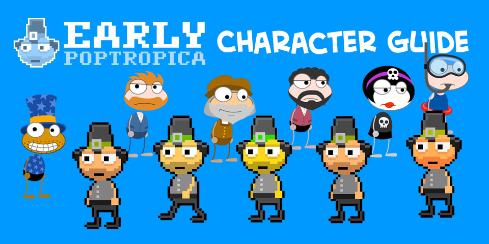 Where Is Early Poptropica Island
