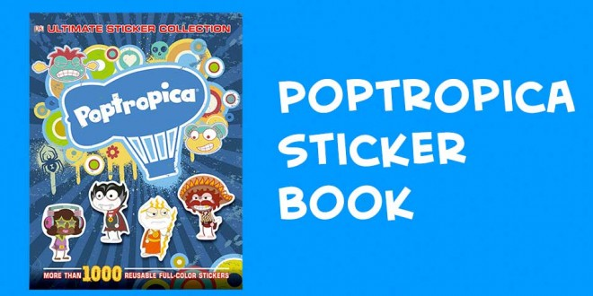 Poptropica Ultimate Sticker Collection Book