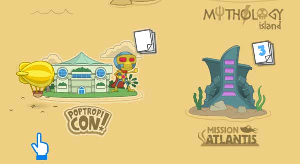 PoptropiCon Appears on Map