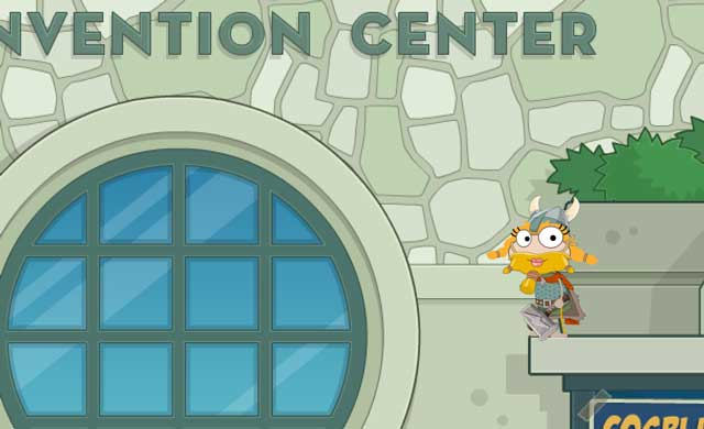 PoptropiCon Window Entrance